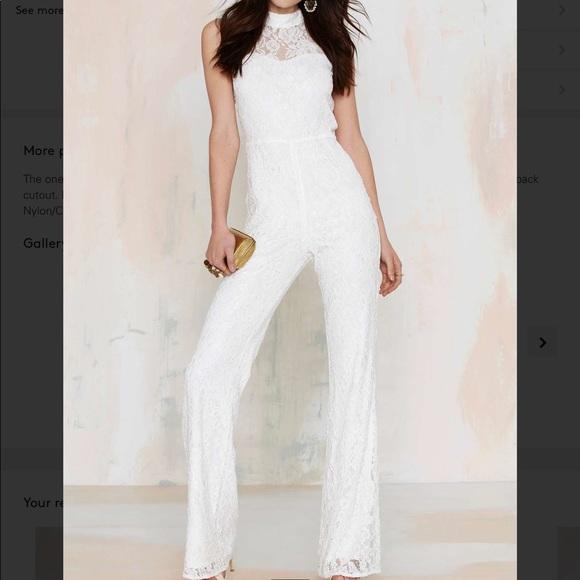7f0d83838454 M-70 Adriana lace jumpsuit